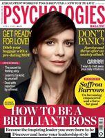 PSYCHOLOGIES Magazine April 2020 (BRAND NEW BACK ISSUE)
