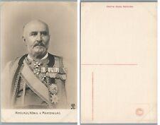 ANTIQUE GERMAN POSTCARD NICHOLAS KING OF MONTENEGRO