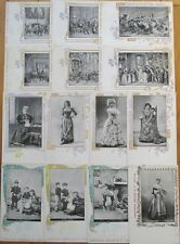 Champagne Mercier, Epernay: Collection of FOURTEEN 1902 Advertising Postcards