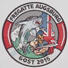 """Aufnäher Patch Marine Fregatte """"Augsburg"""" F213 - GOST 2015 ..........A3506"""