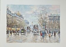 Antoine Boulet.Signed Numbered large lithograph LXXVII/C.