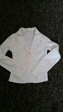 White cotton blazer Size 8 UK