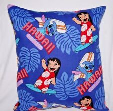DISNEY HANDMADE LILO AND STITCH TODDLER/ TRAVEL  PILLOW @@