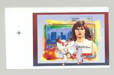 Uganda 1996 Olympics, Judo 1v S/S Unissued Chromalin Essay 2500/-
