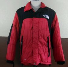 VTG The NORTH FACE - Mens L Red Black 700 fill Goose Down - Puffer Jacket