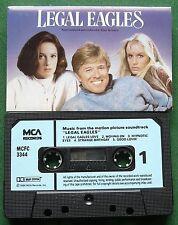 Legal Eagles ST Music Elmer Bernstein Steppenwolf Rascals + Cassette Tape TESTED
