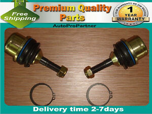 2 FRONT LOWER BALL JOINT FOR FORD CROWN VICTORIA 03-11