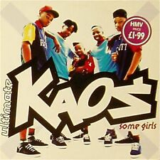 "KAOS 'SOME GIRLS' UK PICTURE SLEEVE 7"" SINGLE"