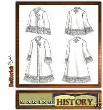 Reduced!  Butterick 4762 Women's Historical Robe Bed Jacket 6-12