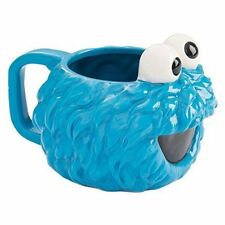 Sesame Street Cookie Monster Head Shaped Ceramic Mug