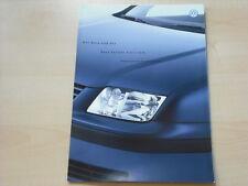 52332) VW Bora + Variant Edition Preise & Extras Prospekt 07/2000