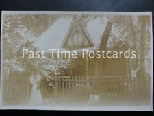 Old RPPC - 'Horse Shoe Cottage' - Canada - photo by J W Wilson