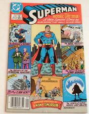 Superman #423, 1986, Last Issue, Curt Swan, Alan Moore, George Perez, Fn/Vf 7.0