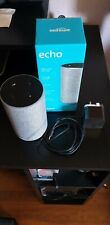 Amazon Echo (2nd Generation) Smart Assistant with Alexa - Heather Grey