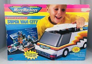 Micro Machines Super Van City 1996 Hiways Byways Galoob 7449 Vintage New RARE