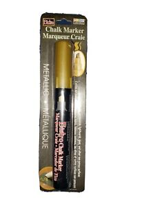 Bistro Chalk Marker Chisel Tip Gold