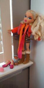 MGA Bratz lot - Cloe 2005 Campfire doll w clothes, shoes, accessories