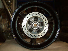 Suzuki GSXR 1000 Rear Wheel Rim Clean