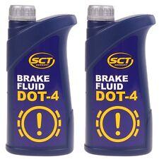 SCT Germany Bremsflüssigkeit 2x910g DOT 4 SAE J 1703 Brake Fluid 2 Liter