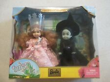 Barbie Wizard of Oz Kelly as Glenda & Wicked Witch of the West Collectible 2003