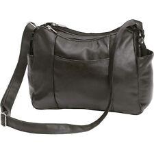 Lambskin Leather Cross Body Shoulder Purse, Womens Evening Messenger Satchel Bag