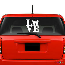 Love Goldendoodle Windshield Sticker Vinyl Auto Window park doodle