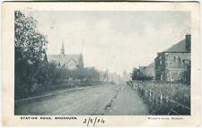 STATION ROAD, BROXBURN - West Lothian Postcard (P2061)