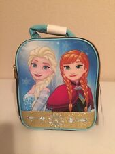 Disney Frozen Elsa Anna  Lunch Bag Lunch Box NWT
