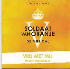 Carel Kraayenhof-Vrij Met Mij cd single Soldaat Van Oranje