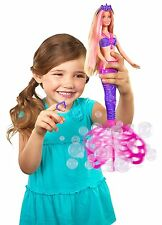 NUOVO!! BARBIE bubble-tastic mermaid doll GRATIS UK CONSEGNA!!