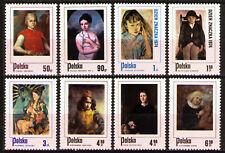 Poland 1974 Sc2058-652338-45 8v mnh Polish paintings of Children:
