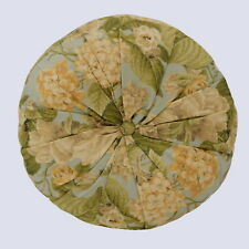 Waverly Garden Glory 16 inch Round Decorative Accessory Throw Pillow NEW