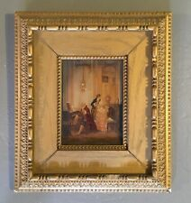 Antique Gilded Ornate Frame with print