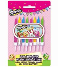 Shopkins Cake Topper & Birthday Candle Set