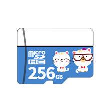 Micro SD Card Class10 TF Card 256GB Memory Card for Smart Phone Tablet PC E6E6