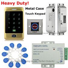 Golden Waterproof Rfid Card+Password Door Access Control System+Drop Bolt Lock