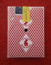 Vintage 1983 CAESARS PALACE BACCARAT Casino Playing Cards Las Vegas Red Bee