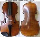 OLD GERMAN 19th Ctry HOPF VIOLIN - video - ANTIQUE master バイオリン rare скрипка 286 for sale