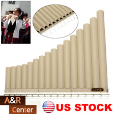 16 Pipes Beginners Pan Flute Panpipe Music Instrument Easy Learn Awesome Flutes