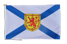 More details for nova scotia canada flag with rope and toggle - various sizes