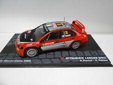MITSUBISHI LANCER  WRC RALLY MONTE CARLO 2005 PANIZZI EAGLEMOSS IXO 1/43