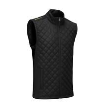 Stuburt Endurance Sport Full Zip Padded Mens Golf Gilet - Black Medium