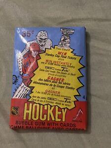 (1) 1984-85 OPC Hockey Wax Pack