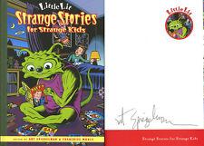 Art Spiegelman SIGNED AUTOGRAPHED Little Lit Strange Stories HC 1st Ed 1st Print