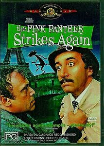 THE PINK PANTHERS STRIKES AGAIN PETER SELL BRAND NEW UNSEALED FAST POST REGION 4