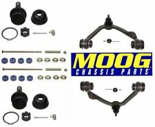 Front Upper Control Arms & Lower Ball Joints Sway Bar Links Kit For Lincoln Ford