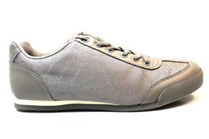 Scarpe da uomo Calvin Klein SE8455 sneakers casual comode sportive grigie 39