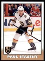 2020-21 UD O-Pee-Chee Retro #363 Paul Stastny - Vegas Golden Knights