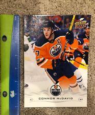 2018 U.D. Connor McDavid Oilers Upper Deck Oversized Promo Oilers Team Issue