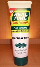 Daily Relief Lotion - 4 oz Tube - Real Time Pain Relief - FREE shipping